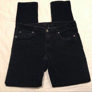 Kut from the Kloth black corduroy jeans size 6